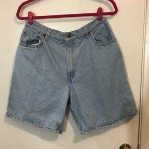Levi's Mom Jean Shorts